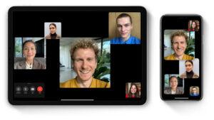 Facetime videovergaderen GoGrapefruit