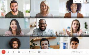 Google Meet videogesprek GoGrapefruit